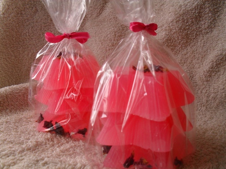 Pink Stars Gift Soaps