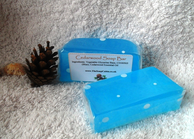 Cedarwood Soap Bar