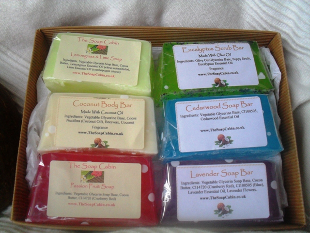 Soap Cabin 6 Bar Gift Set